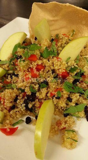 Quinoa & Currant salad