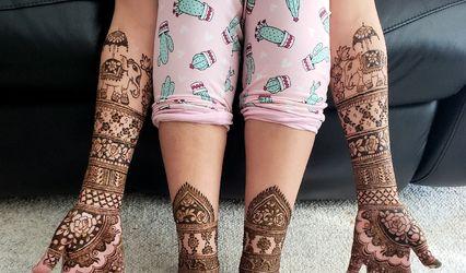 MissArtistico - Henna By Vijeshri 1