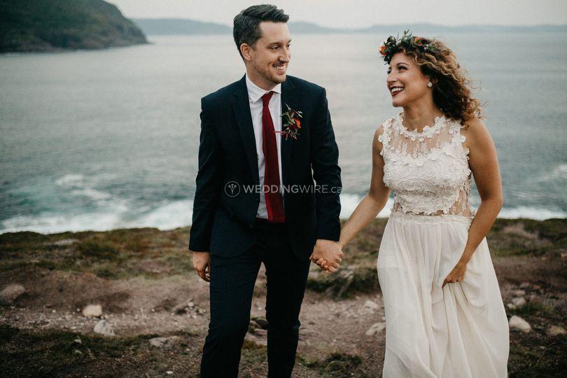 Cape Spear elopement