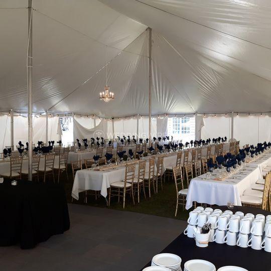 Grand tappattoo wedding