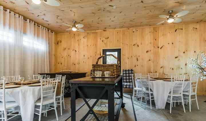 Garden House pine barn board