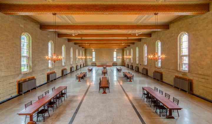 La salle du Grand Réfectoire