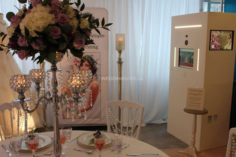 Beautiful Bridal Photo Booths