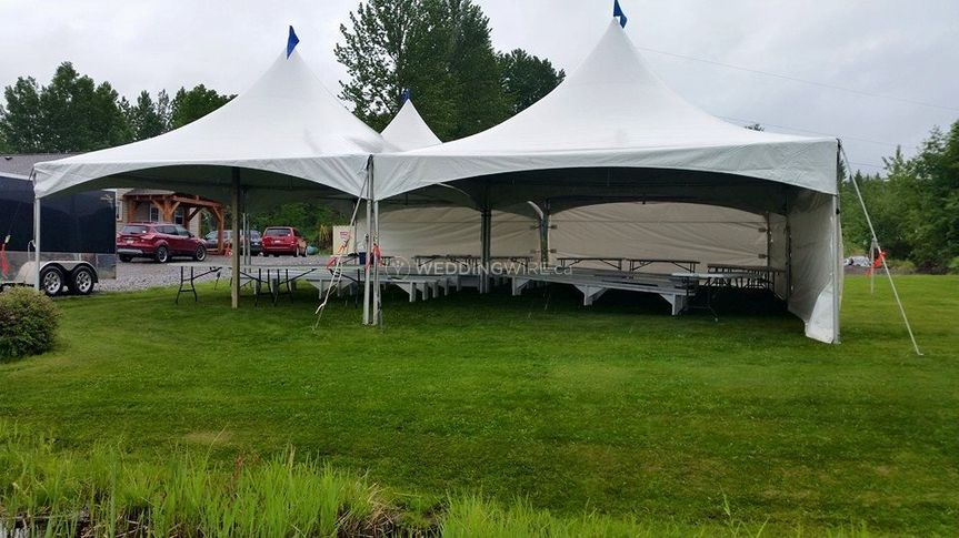 20 x 20 marquee Tents
