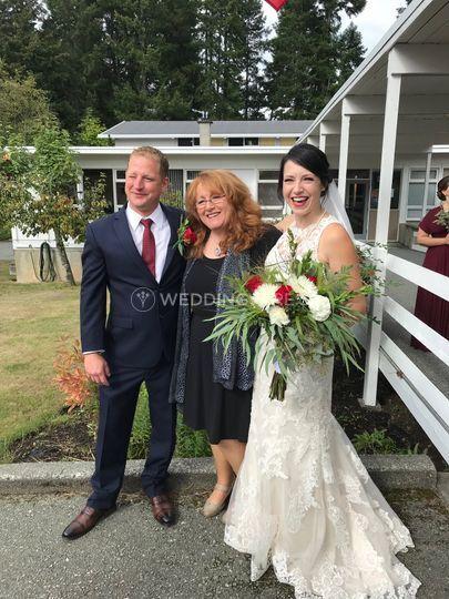 Wedding in Port Alberni