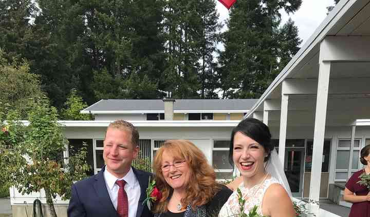 Wedding in Port Alberni