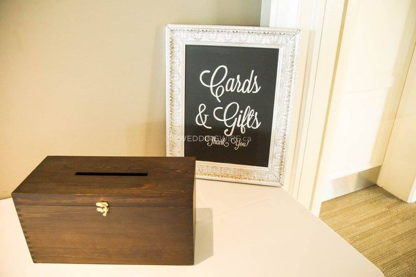 Cards and Gifts Chalkboard