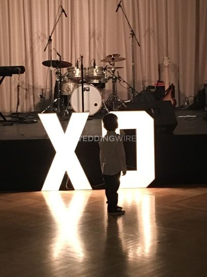 Marquee Letters - XO