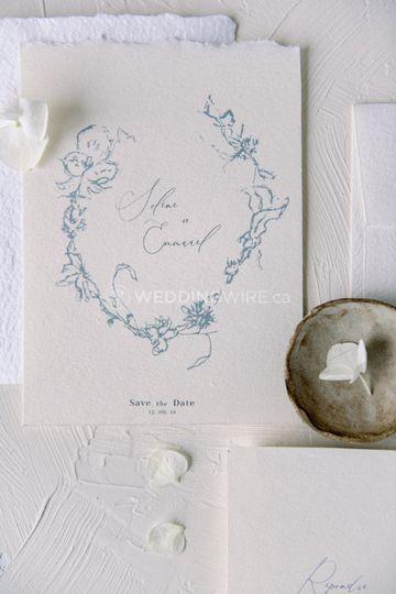 Invitation + enveloppe