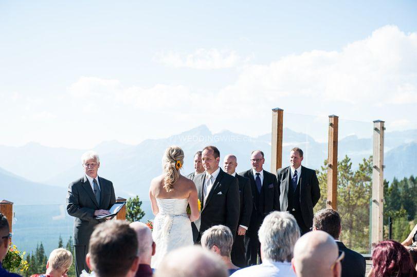 Bride - Lake Louise
