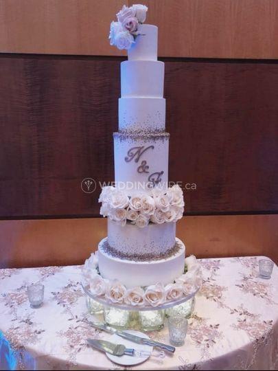 Gâteau glamour