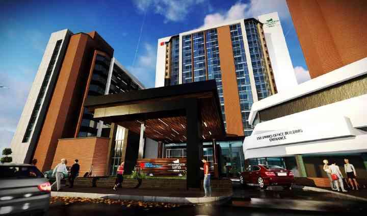 Hilton Garden Inn & Homewood Suites Ottawa Downtown