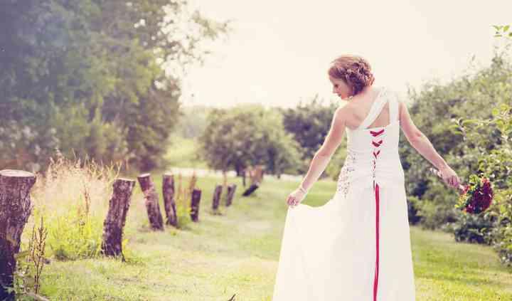 Mariée à la champenoise