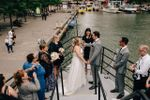 Lovely wedding on a boat