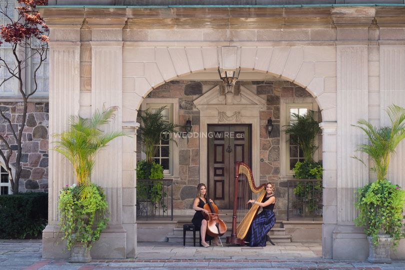 Harpist Naomi &Cellist Heather