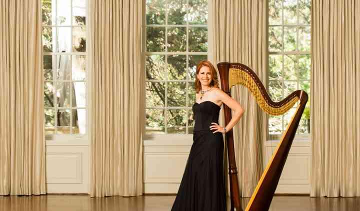 Owner & Harpist Chantal Dube