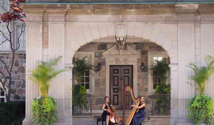 Harpist Naomi &Cellist Heather