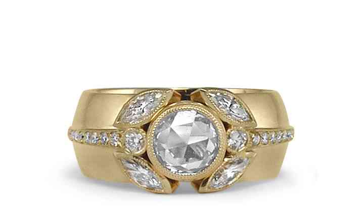 Rose Cut & Marquis Diamond