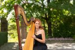 Owner & Harpist Chantal Dube