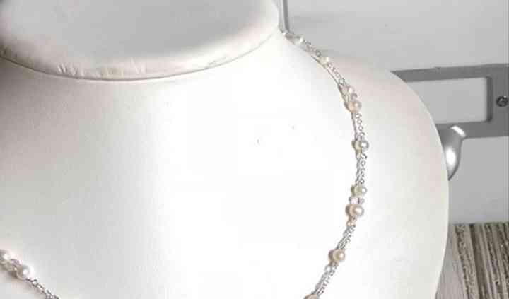 Hand Tied Pearl Necklace