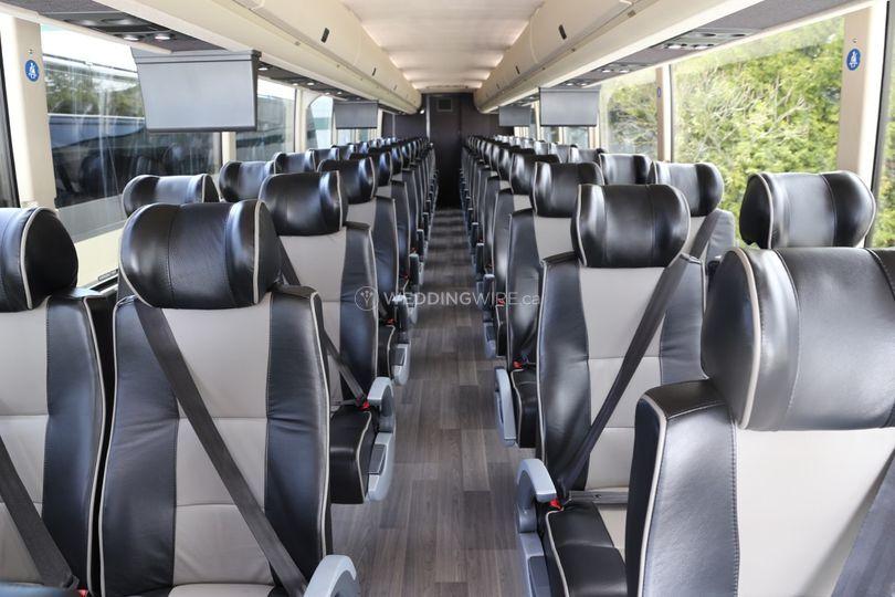 Luxury Motorcoach Interiors