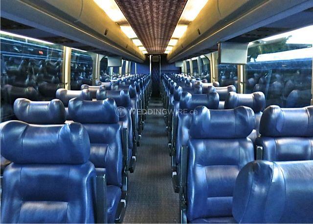 Executive Motorcoach Interior