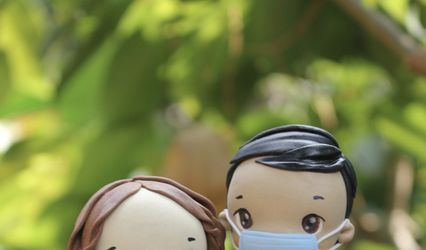 World Cake Topper