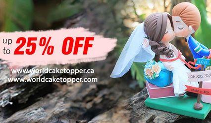 World Cake Topper