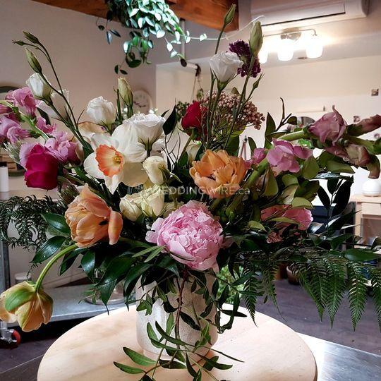 Our Wedding Centerpieces