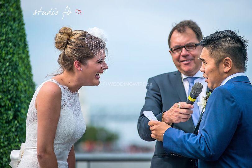 Mariages à Bras Ouverts: Célébrant Montreal-Quebec Officiant