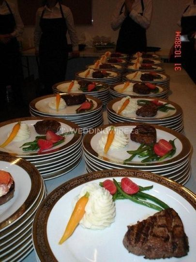 Filet of beef and lobster