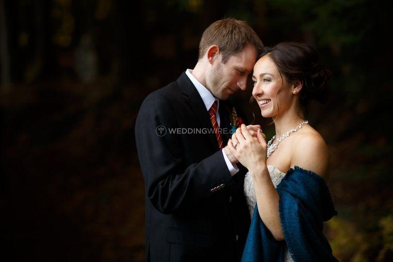 Fall Wedding at Gatineau Park