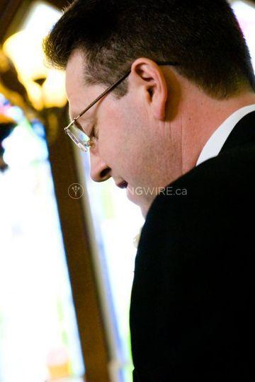 Pastor Garth McFadden