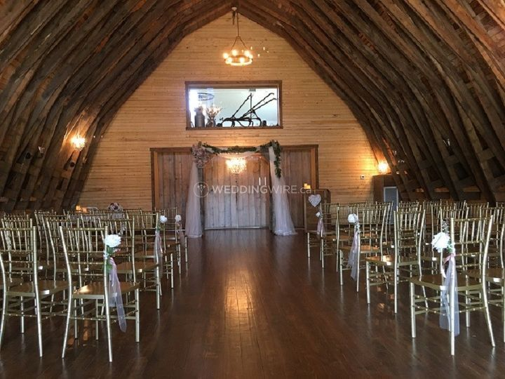 Historic Barn Ceremony