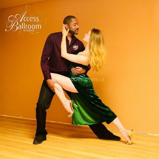 Dance teachers Access Ballroom