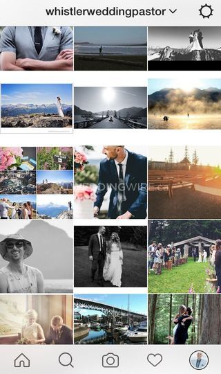 Insta @WhistlerWeddingPastor