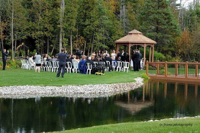 Tori's Garden ceremony site