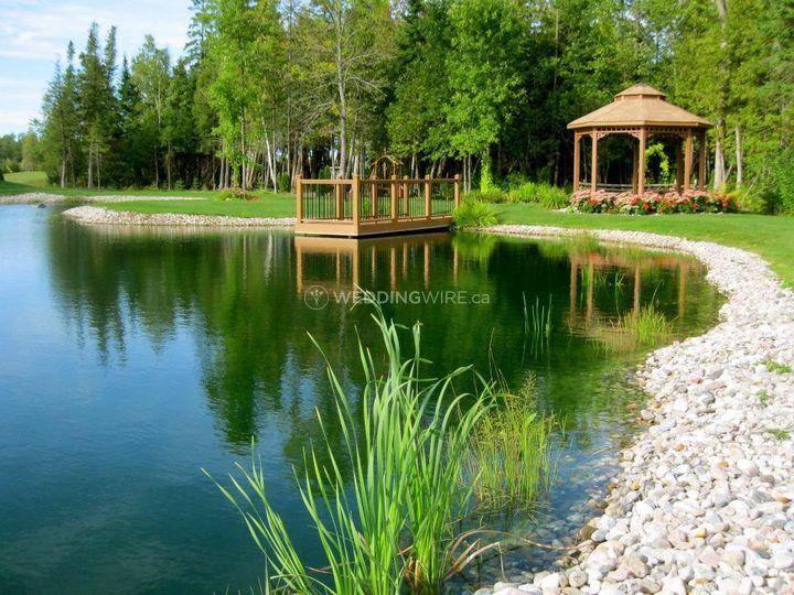 Pond at Tori's Garden