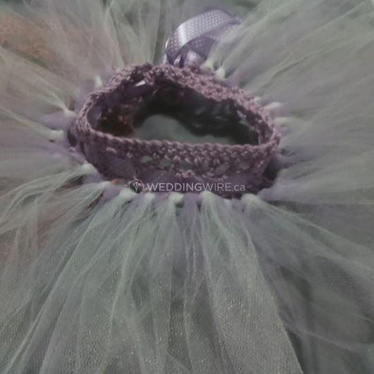 Soft lilac puff