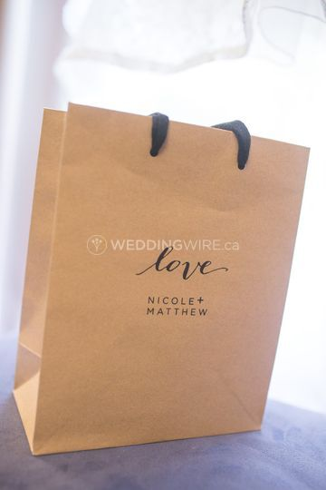 Guest Favour Bags
