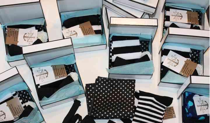 Box set for groomsmen