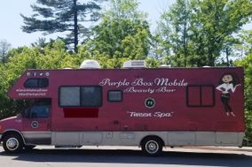 Purple Box Mobile Beauty Bar
