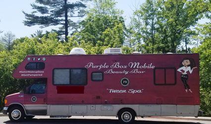 Purple Box Mobile Beauty Bar 1
