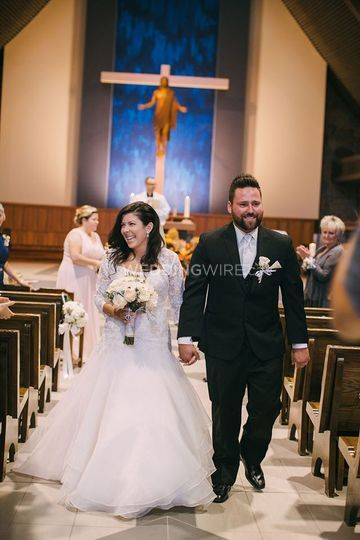 Oakville, Ontario wedding ceremony
