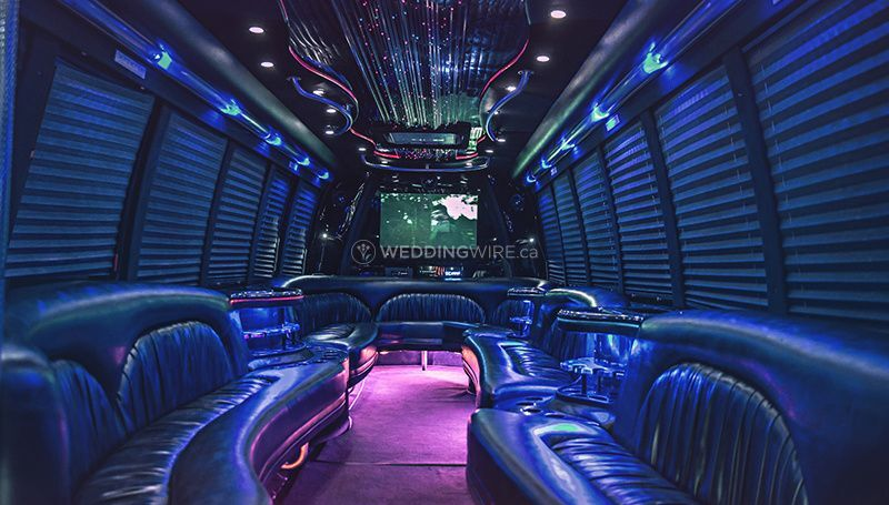 Luxury Limo Bus