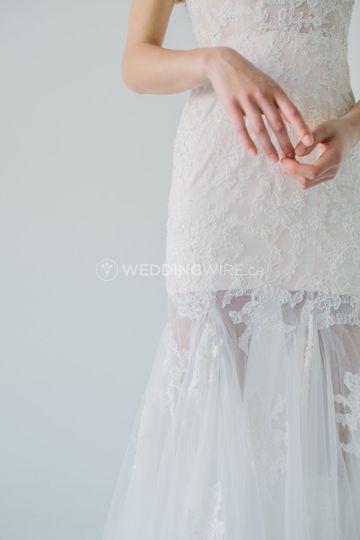 Lyss Dress detail