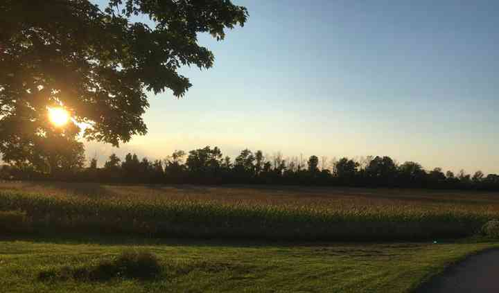 FRONT PROPERTY WITH CORN FIELD