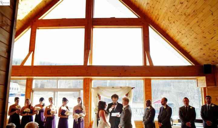 Chelsea, Quebec wedding ceremony