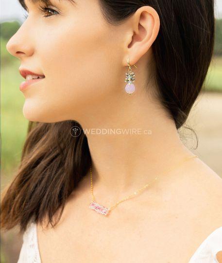 Clustered earrings