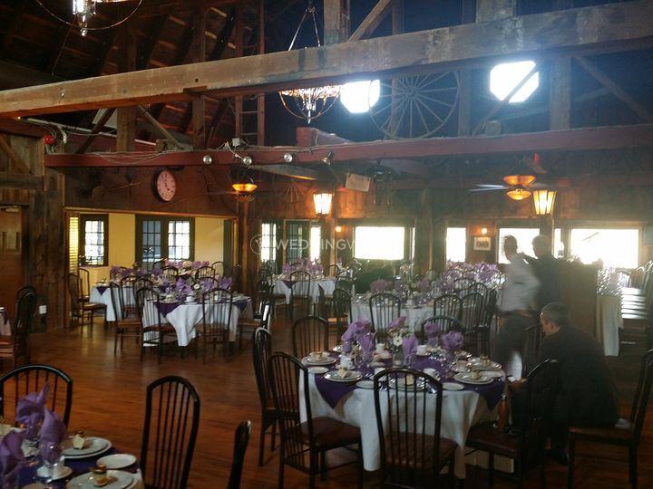 Barn rustic setting